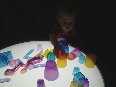 reggio light play  exploration  light shadow