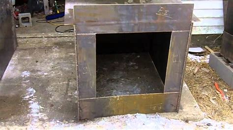 #2 DIY Outdoor Wood Burner Boiler (Hydronic Wood burning