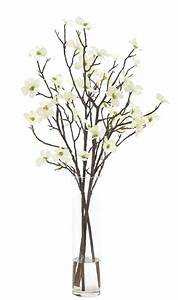 Natural Decorations, Inc - Dogwood Branch Cream Green