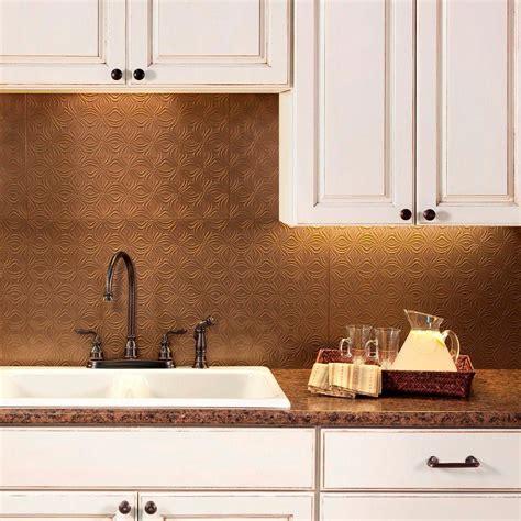decorative kitchen backsplash fasade 24 in x 18 in lotus pvc decorative tile