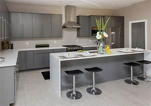 grey modern kitchen ideas - Kitchen and Decor