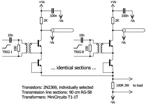 circuit diagram of the pulse generator circuit scientific diagram