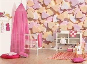 Vorhänge Babyzimmer Mädchen : 45 auff llige ideen babyzimmer komplett gestalten ~ Michelbontemps.com Haus und Dekorationen