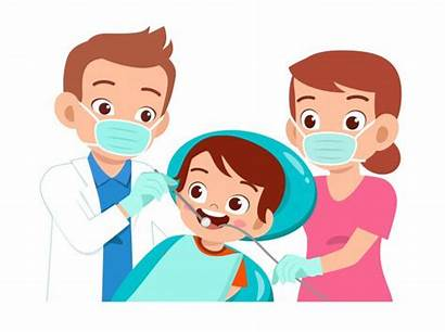 Dentist Cartoon Going Check Character Database Happy