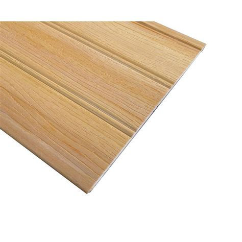 cedar wood planks home depot 14 sq ft western cedar planks 6 pack 8203015 the home depot
