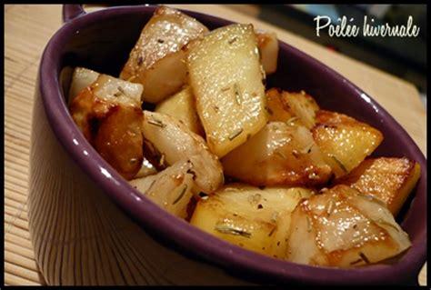cuisiner des topinambours a la poele poêlée hivernale pomme de terre et topinambour au
