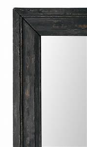 Miroir Cadre Noir : miroir ancien bois noirci patin ~ Teatrodelosmanantiales.com Idées de Décoration