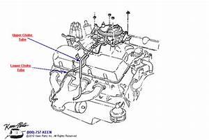1965 Corvette Choke Tubes Parts