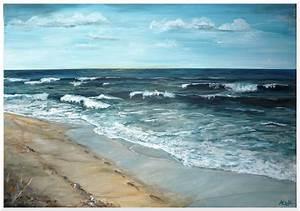 Bilder Meer Strand : meer strand weite horizont strand meer von annett kruppa bei kunstnet ~ Eleganceandgraceweddings.com Haus und Dekorationen