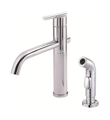 danze d405558 parma single handle kitchen faucet with