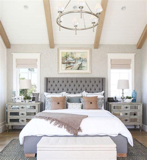coastal bedroom california house with modern coastal interiors Modern