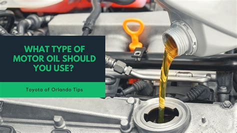Four Types Of Motor Oil (which Should You Use?)