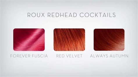 roux hair color roux color refresh mask hair color cocktails