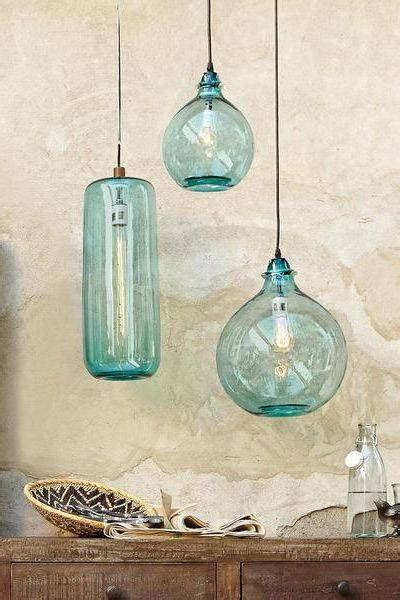 recycled glass light 15 ideas of recycled glass pendants