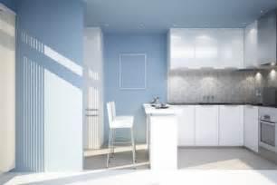kitchen tile paint colours красивый дизайн и декор дизайн кухни в голубых тонах 6277