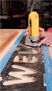 20 must know woodworking tips easy woodworking ideas With router lettering guide