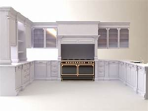 kitchen cabinets appliances 3d cgtrader With kitchen furniture 3d free