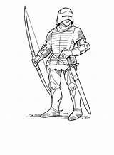 Knights sketch template