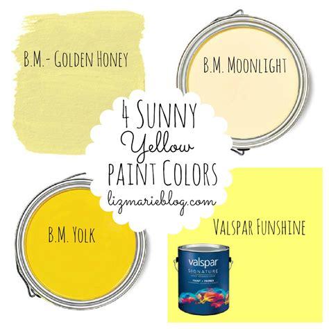 Best Yellow Paint Colors  Liz Marie Blog