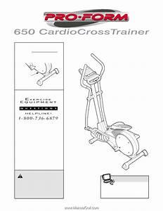 Proform 650 Cardio Cross Trainer