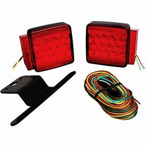 Wesbar Trailer Light Kit With 25 Ft  Wiring Harness 287512