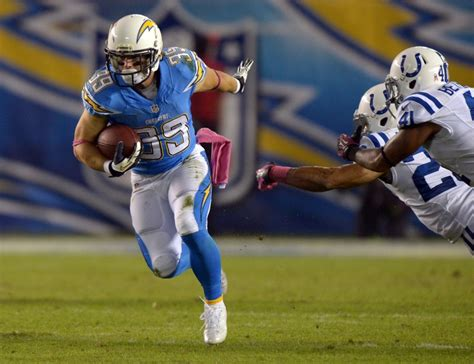 San Diego Chargers Running Back Options