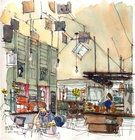 art journal sketchbook urban inspiration
