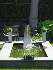 cascade de jardin fontaine et bassin 80 oasis modernes With fontaine de jardin moderne 4 sculpture contemporaine et autres idees de deco du jardin