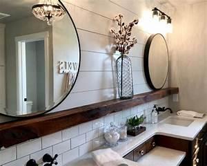 Fixer Upper Badezimmer : landhausstil badezimmer mit einbauwaschbecken ideen design bilder houzz ~ Orissabook.com Haus und Dekorationen
