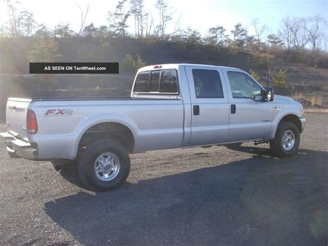 Fx4 4x4 Ford F350 Superduty 2004 Long Bed Crew Cab All