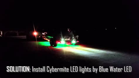 Led Boat Trailer Backup Lights boat trailer backup lighting system by blue water led