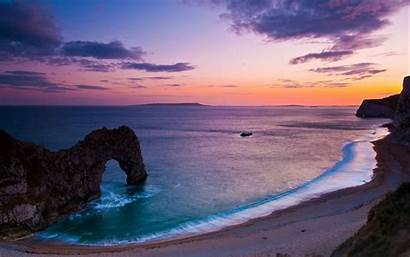 Ocean Scenes Desktop Mountain Landscape Valley