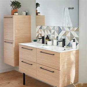 Meuble Salle De Bain Promo Destockage : meuble salle de bain et vasque leroy merlin ~ Teatrodelosmanantiales.com Idées de Décoration
