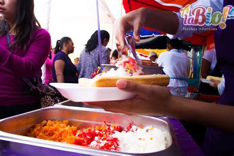 comida  fiestas infantiles carritos de hot dogs