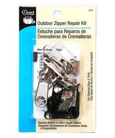 outdoor zipper repair set  perfect zulilyfinds
