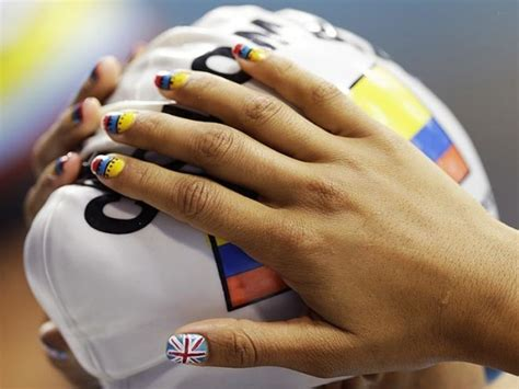 Olympians Show Off Patriotic & Olympic Themed Nail Art