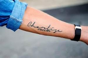 Tatouage Chiffre Romain Poignet : tatouage date de naissance poignet chiffre romain cochese tattoo ~ Nature-et-papiers.com Idées de Décoration