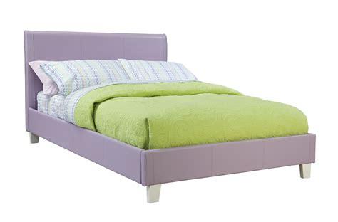 Full Bedroom Furniture Set by Standard Fantasia Lavender Upholstered Bed
