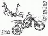 Coloring Dirt Bike Pages Printable Sheets Boys Printables Coloringpages4kidz sketch template
