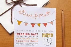 Budget wedding ideas diy invitations etsy weddings bunting for Wedding invitations online etsy