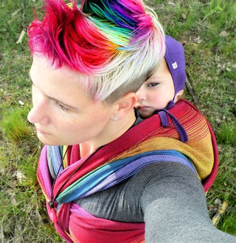 25 Best Images About Rainbow Hair On Pinterest Neon Hair