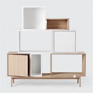 Wandregal Mit Tür : stacked 2 0 t r modul muuto connox ~ Orissabook.com Haus und Dekorationen