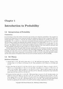 Solution Manual For Probability And Statistics 4th Edition By Degroot By A159719295