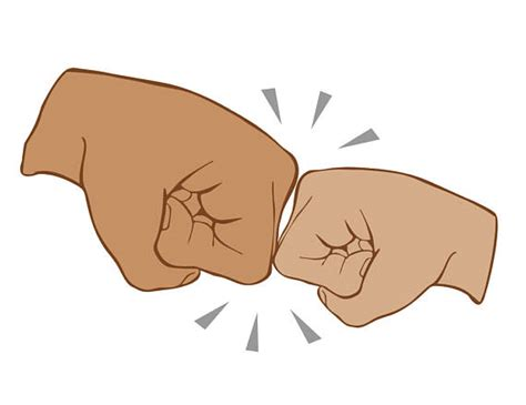 Best Friend Fist Bump Svg File