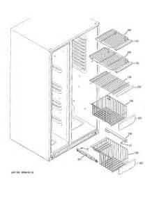 parts  ge pshspgzbess refrigerator