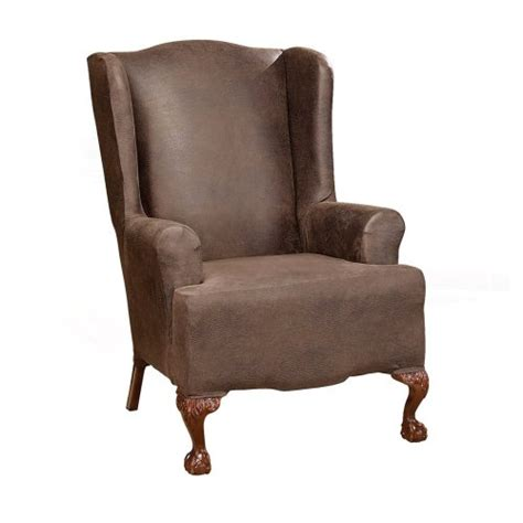 Oversized Chair Slipcover Cheap by Wing Chair Slipcovers July 2011 If Finding The Best