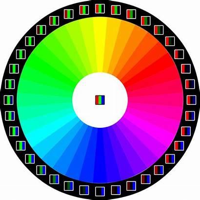 Matching Warna Rgb Wheel