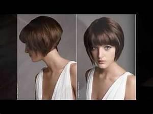 Coiffure Carre Plongeant : coiffure cheveux courts carre plongeant youtube ~ Nature-et-papiers.com Idées de Décoration