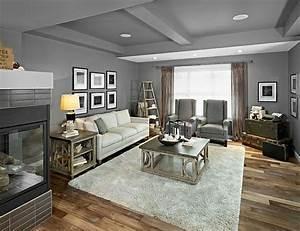 Wohnzimmer Wandfarbe Grau : wandfarbe grau ist der neue trend in der zimmergestaltung wohnzimmer pinterest wohnzimmer ~ Orissabook.com Haus und Dekorationen