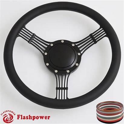 Steering Banjo Wheel Billet Wrap Half Horn